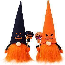 2PCS Halloween Gnomes Plush