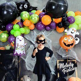 14 pcs Halloween Balloon Garland Kit