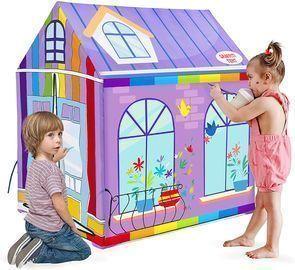 Starpony Painting Playhouse Tent
