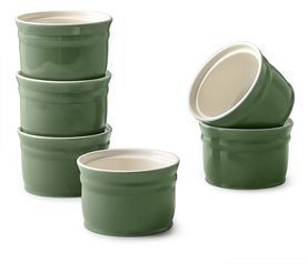Set of 6 Porcelain Ramekins