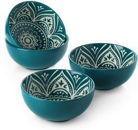 Set of 4 26oz Soup Bowls