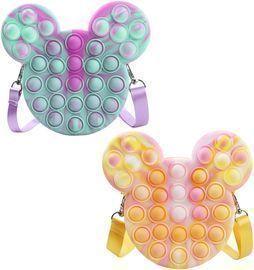 2pk Pop Shoulder Bags Fidget Toys