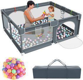 Kids Large Playard with 50PCS Pit Balls