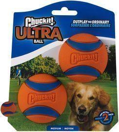 Chuckit! 2pk Ultra Ball Dog Toy