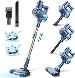 Cordless Vacuum Cleaner with LED Display