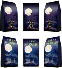 24 Packs Halloween gift Bags