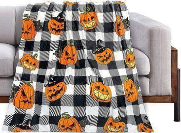 Halloween Pumpkin Blanket