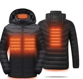 Lightweight Heated PufferJackets with Battery Pack