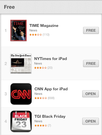 TGI Black Friday - iPhone / iPad Black Friday App - Top 5 Free Apps