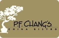 20% Off P.F. Chang's Gift Cards