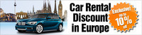 Sixt - 10% Off Car Rentals in Europe