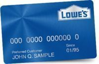 Lowes - 5% Off Sitewide w/ Lowe's Card