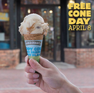 Ben & Jerry's - Free Cone Day (April 8)