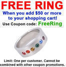 Pride Shack - Free Ring with $50+ Order