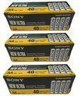 Sony Ultra Heavy Duty Carbon Zinc AA Battery, 120-Pack
