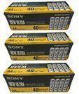 Sony Ultra Heavy Duty Carbon Zinc AA Battery, 120-Pack