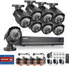 Sannce HDMI 8-Ch. DVR IR Outdoor CCTV Security Camera System