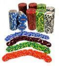 Craftsman 25-Piece Clay Poker Chips Set