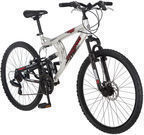 Mongoose Legit 26 Dual-Suspension Men's Mountain Bike