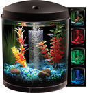Hawkeye 2 Gallon 360 Starter Aquarium Kit with LED Lighting