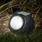 LED Solar Rock Landscaping Lights 4-Pack