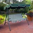 Coral Coast Tortuga Cay 2 Person Canopy Metal Swing