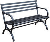 Garden Treasures 23.15 x 49 Patio Bench