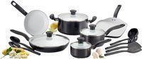 T-fal 16-Pc. Nonstick Ceramic Coating Cookware Set