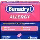 Benadryl Allergy Ultratab Tablets (Add-On Item)