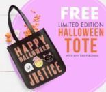 Justice - Free Halloween Tote with $50+ Order
