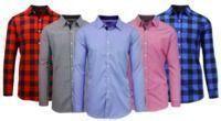 Men's Slim Fit Woven Shirts