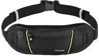iTechor Sport Running Belt with Water-Resistant Fanny Pack
