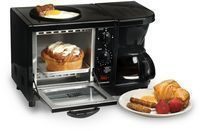Elite Cuisine 3-in-1 Multifunction Breakfast Center