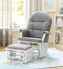 Shermag Aiden Glider and Ottoman Set