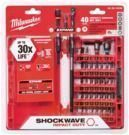 Milwaukee 40pc Shockwave Impact Duty Driver Bit Set