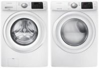 Samsung 4.2 Cu. Ft. HE Washer + 7.5 Cu. Ft. Dryer