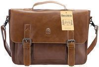 Berchirly Vintage Leather Briefcase