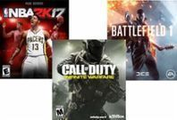 Best Buy - Select PlayStation 4 and Xbox One Games: B2G1 Free