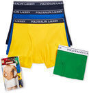3 Pack of Polo Ralph Lauren Boxers w/ Extra Pair