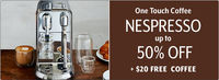 Sur La Table - Up To 50% Off Nespresso Machines and $20 In Free Coffee