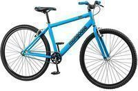 29 Mongoose Hex Men's Fitness Bike, Matte Blue
