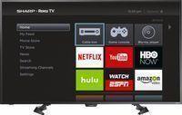 Sharp 50 1080p LED-Backlit LCD HD Roku Smart TV