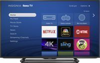 Insignia 50 4K LED-Backlit LCD Ultra HD Roku Smart TV