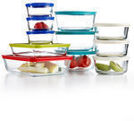 Pyrex 22 Piece Food Storage Container Set