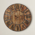Oversized 24 Metal Wall Clock by Darby Home Co
