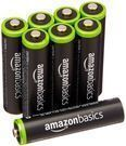 8-Pack AmazonBasics 800mAh AAA Rechargeable Batteries