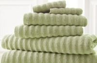Luxury Spa Collection 6-Piece Wavy Quick-Dry Towel Set