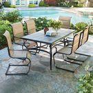 Hampton Bay Belleville 7-Piece Outdoor Dining Set