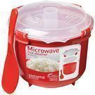 Sistema Microwave Cookware 87-oz. Rice Steamer