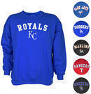 MLB Long Sleeve Crewneck Pullover (18 Teams)